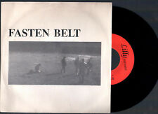 "FASTEN BELT NO DICE + ON THE ONE HAND 1987 LILLY RECORDS ITALY 7""45 GIRI"