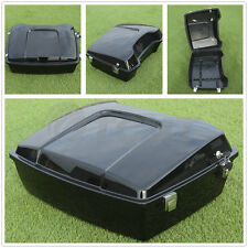 """10.7"""" Chopped Tour Pak Pack Trunk For Harley Touring Road King Glide 1997-2013"""