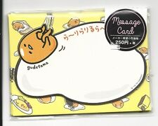 Sanrio Gudetama Notecards With Envelopes Stickers Message Cards