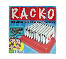 RACK-O Retro Package Card Game Winning Moves