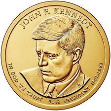 2015 D John F. Kennedy Presidential One Dollar Coin from U.S. Mint Rolls Money