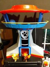 Paw Patrol - The Lookout Tower playset with Zuma and Rubble figures