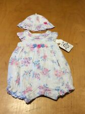 $40   girls  Little Me  2PC  whimsical garden outfit 3 months  P97R