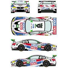 Calcas BMW M6 GT LM Watkins Glen 2016 25 1:32 1:24 1:43 1:18 slot decals