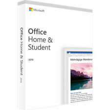 Microsoft® Office 2019 Home & Student Vollversion Original Produktkey