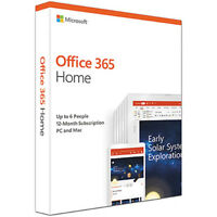 Microsoft Office 365 Home Premium, 12-month subscription, up to 6 people