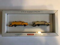 "Wiking HO 1/87 Street Cleaning Trucks ""Sprengwagen"" Vintage Limited Edition NIB"