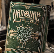 Green National Playing Cards by theory11 from Murphy's Magic