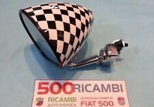 FIAT 500 F/L/R 126 SPECCHIO A CALICE ROTONDO CROMATO CONICO ATTACCO A MORSETTO
