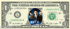 Doctor Who Design #1 (TARDIS) Dollar Bill {In Color} - REAL Spendable Money!