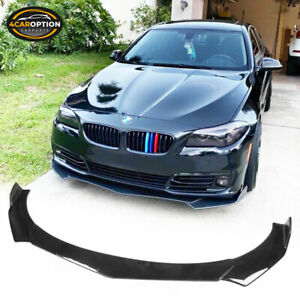 Universal B Style Front Bumper Lip Chin Spoiler Air Dam Gloss Black