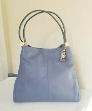 NEW Coach Madison Leather Phoebe Shoulder Bag 26334 Cornflower Blue
