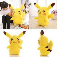 """13.8"""" Big Stuffed Teddy Doll Cute Pikachu Soft Plush Stuffed Animal Toy Kid Gift"""