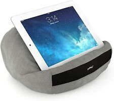 Grau padRelax Tablet Kissen + iPad Halterung bis 10.5 Zoll , Made in Germany