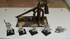 OOP Citadel / Warhammer Fantasy Battles Metal War Machines Trebuchet with Crew