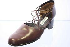 Paul Green Schuhe Trotteur braun Leder Variobündchen Gr. 38,5 (UK 5,5)