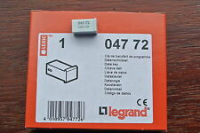 legrand Lexic 047 72 4 pin Data Key Write Key to transfer time switch programmes