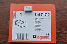 Legrand lexic 047 72 pin 4 clé de données écrire clé de transfert interrupteur horaire programmes