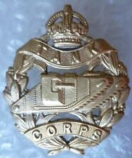 Badge- Royal Tank Corps Tankers Regiment Cap Badge KC All BRASS, Genuine*