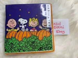 Peanuts Snoopy Pumpkin Napkins Perfect For Halloween/thanksgiving! 40 Napkins