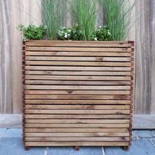 Fioriera SALVASPAZIO legno 79x20 super altezza 78 cm.rivestimento - maniglie - V