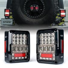 Xprite Destroyer Series LED Taillights For Jeep Wrangler JK JKU 2007 - 2018