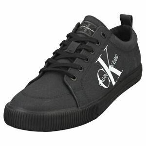 Calvin Klein Vulcanized Sneaker Mens Black Trainers - 9 US