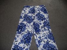 BNWT..LOVELY LADIES WIDE LEGGED TROUSERS/PALAZZO STYLE..SIZE 20 .SHORT ..PER UNA