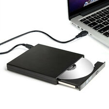 Ultra slim Extern USB 2.0 DVD ROM Combo CD-RW Brenner Laufwerk Notebook Laptop