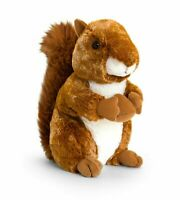 CUDDLY NEW KEEL TOYS 21CM RED SQUIRREL SW2508 SOFT CUDDLY PLUSH FARM TOY