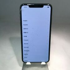 Apple iPhone XS Max 256GB Space Gray AT&T - Front and Back Glass Cracked