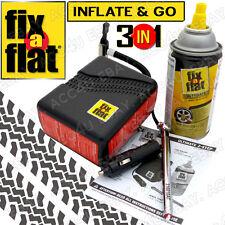 Fix a Flat Ultimate voiture plat PNEU RUSTINE réparation enduit 12V