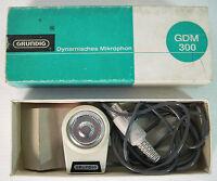 grundig gdm-300 microfono nuovo con scatola, per registratori