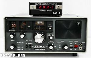 Yaesu FRG-7 Shortwave Ham Radio Shortwave Receiver *GAR-7 DIGITAL READOUT OPTION