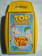 Top Trumps Phineas & Ferb Cards Game by Winning Moves 2012 Complete