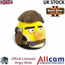 "Angry Birds Star Wars II Large 8"" Cuddly Toy/ Soft Plush Toy - Han Solo, New"