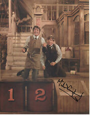MICHAEL CRAWFORD Signed 10x8 Photo BARNUM & SOME MOTHERS DO 'AVE 'EM COA