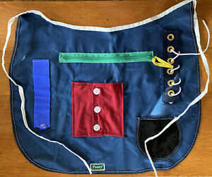 VGUC Posey Adult Cognitive Therapy Multi-Activity Apron Dementia Alzheimers OS