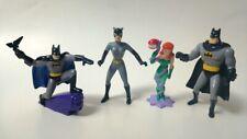 Batman PVC Figuren-Set, 4 Figuren, Batman Animated, Applause 1993