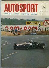 AUTOSPORT DICEMBRE 1st 1967 * MACAU GRAND PRIX & RIVERSIDE Usac & MGC *