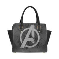 Avengers Leather Women Purse Top Handle Tote Style Handbag