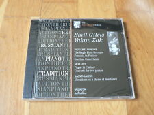 Emil Gilels, Yakov Zak - Mozart-Busoni, Saint-Saëns -Russian Piano Tradition NEW