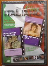 Pan, amor y fantasía + celos (Pane, amore e fantasia + gelosia) [DVD] ¡¡NUEVO!!