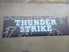 thunder strike arcade marquee #1