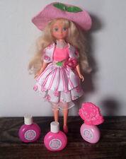 "Vintage 90s Mattel Peppermint Rose Doll Clothing Shoes Perfume Bottles 1992 10"""