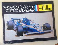 Catalogue Heller 1980 vintage