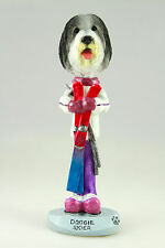 SKIER BEARDED COLLIE-SEE INTERCHANGEABLE BREEDS & BODIES @ EBAY STORE