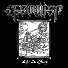"CHEVALIER - Life and Death 7"" (NEW*LIM.300 BLACK*SPEED METAL*ACID*CHASTAIN)"