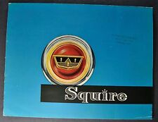 1956 Squire Station Wagon English Ford 16pg Catalog Brochure Excellent Original