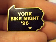 Harley Davidson York PA Bike Night 1996 Pin 96 flstc softail dyna XL HOG fxdwg